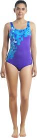 Speedo SPEEDO FEMALE ESSENTIAL U BACK PLACEMENT PRINT Printed Women's Swimsuit