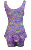 Hydra Fashion Printed Girls Swimsuit