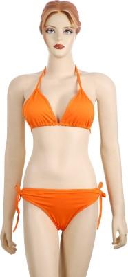 AayanBaby Triangle Cup Bikini Solid Women,s