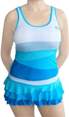 Muren Two Piece Swim Suit Swimming Costume Self Design Women,s