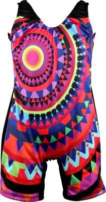 Mitushi Products Swimwear Geometric Print Girl,s