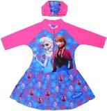 Shopaholic Fashion Printed Girls Swimsui...
