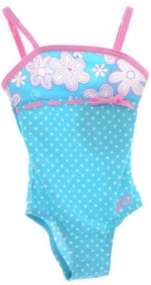 Zoggs Sunshin Beach Classic Back Kids Floral Print Girls