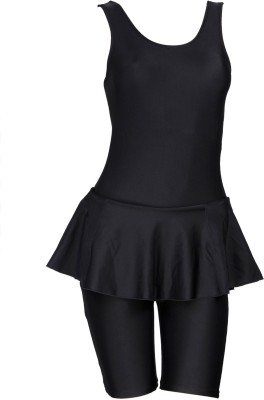 Freestyle Frock With Cycling Shorts Solid Women,s