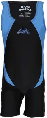 Aquamagica Unitard Solid Girls Swimsuit
