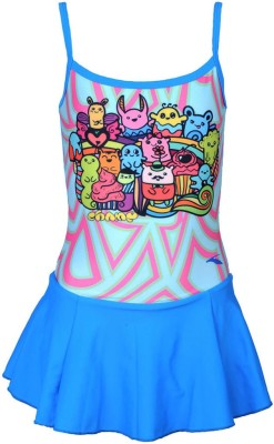 Champ Frock style Sublimation print-Grafitti Printed Girl,s