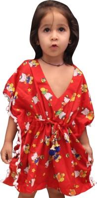 Fascinating Stunning Pom Pom Printed Girls