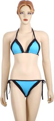AayanBaby Triangle Cup Bikini Self Design Women,s