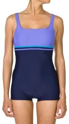 Nabaiji Loran Shorty Purple Blue Swimsuit Solid Women,s