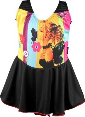 Mitushi Products Swimwear Graphic Print Girl,s