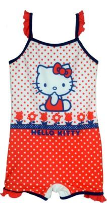 Hello Kitty Swim Wear Printed Girl,s