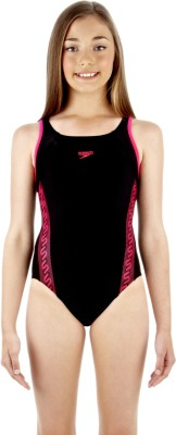 Speedo Monogram Muscleback Solid Women's Swimsuit
