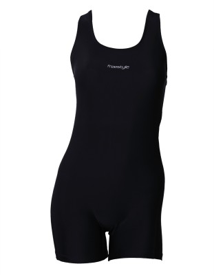 Freestyle Women Legging Style Swimwear Solid Women,s
