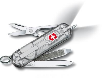 Victorinox 0.6226.T7 - Signature Lite Silvertech 7 Function Multi Utility Swiss Knife