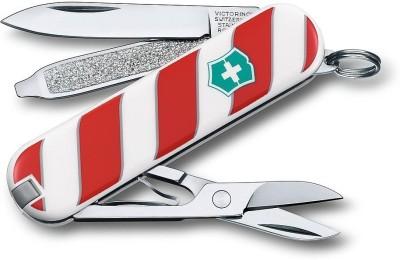 Victorinox 0.6223.L1405B Classic Lolipop 7 Function Multi Utility Swiss Knife