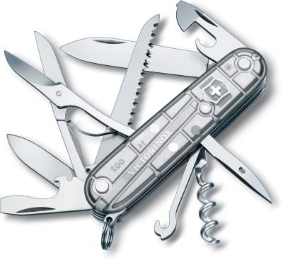 Victorinox 1.3713.T7 - Huntsman Silvertech 15 Function Multi Utility Swiss Knife