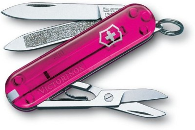 Victorinox 0.6203.T5 Classic Rose Edition 7 Function Swiss Knife