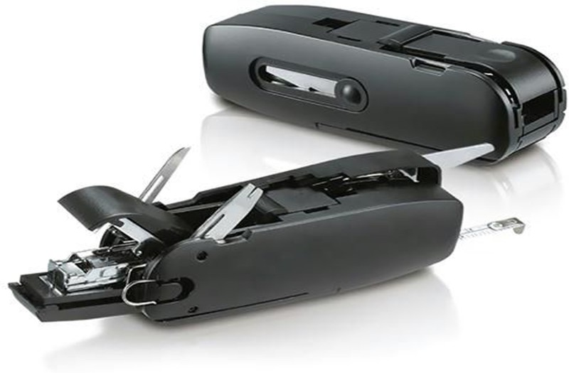 CPEX Office Combo 10 Function Multi Utility Swiss Knife(Black)