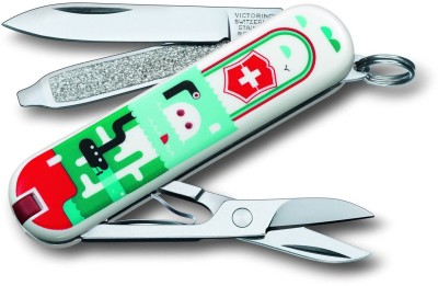 Victorinox 0.6223.L1502 7 Function Multi Utility Swiss Knife