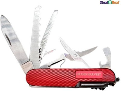Stealodeal Grand Harvest 11 Function Multi Utility Swiss Knife