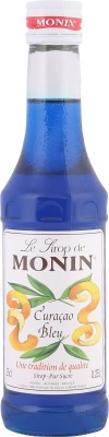 Monin Le Lirop De Sapphire Blue Curacou(250 ml, Pack of 1)
