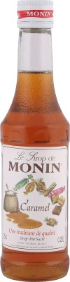 Monin Le Lirop De Syrup Caramel(250 ml, Pack of 1)