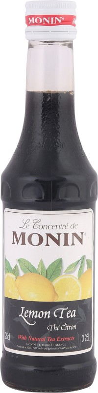 Monin Le Concentre de Lemon Tea(250 ml, Pack of 1)