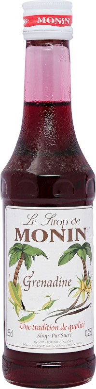 Monin Le Lirop De Ruby Grenadine(250 ml, Pack of 1)