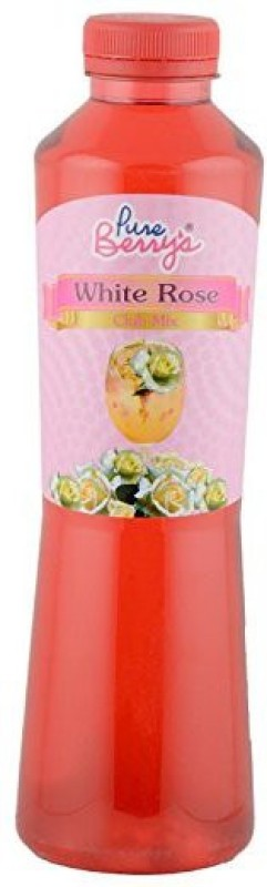 Pure berry EMZPB-self26 White Rose(750 ml, Pack of 1)