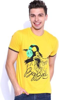 Kook N Keech Disney Printed Men's Round Neck T-Shirt