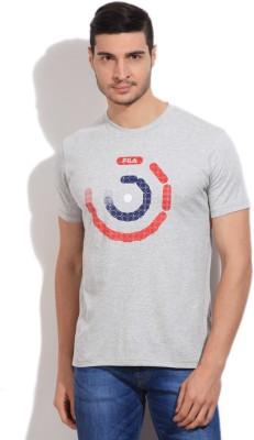Fila Printed Men's Round Neck T-Shirt