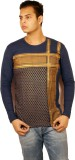 Etyhas Collections Printed Men's Round N...