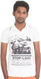 Shoppyzip Printed Men's Polo Neck Multic...