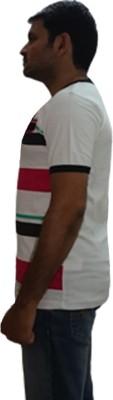 YDA Printed Men's Henley T-Shirt