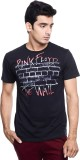 Pink Floyd Printed Men's Round Neck Blac...