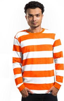 Labscraft Striped Men's Round Neck T-Shirt