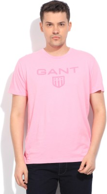 Gant Printed Men's Pink T-Shirt
