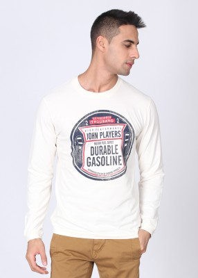 John Players Printed Men's Round Neck T-Shirt