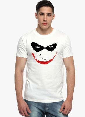 Sharq Printed, Graphic Print Men's Round Neck White T-Shirt