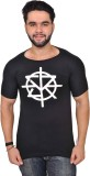 Altitude Printed Men's Round Neck Black ...