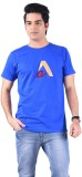 Acasual Wear Printed Men's Round Neck Bl...