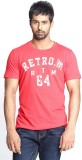 Fashnopolism Solid Men's Round Neck Red ...
