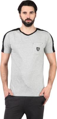 Ringspun Solid Men's Round Neck T-Shirt