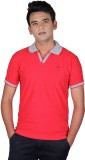 Cute Collection Solid Men's Polo Neck Re...