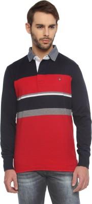 Gant Solid Men's Flap Collar Neck Multicolor T-Shirt