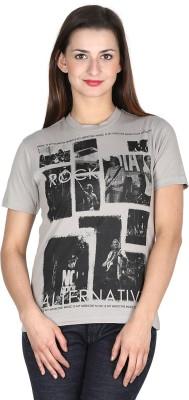 Modimania Printed Women's Round Neck T-Shirt