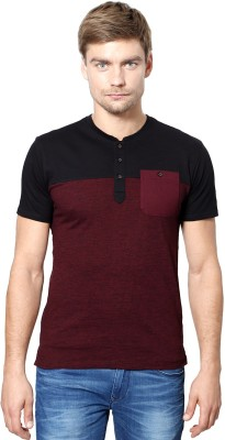 Van Heusen Solid Men's Henley T-Shirt