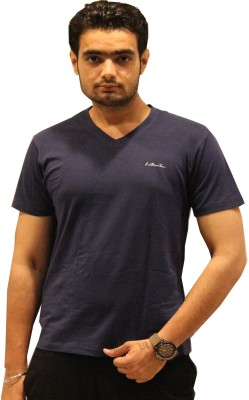 GOPAL EMPORIUM Printed Men's Round Neck Blue T-Shirt