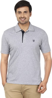 Ruse Solid Men's Polo Grey T-Shirt