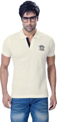 Astron Printed Men's Polo Neck T-Shirt